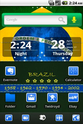 ADW Theme Brazil- screenshot