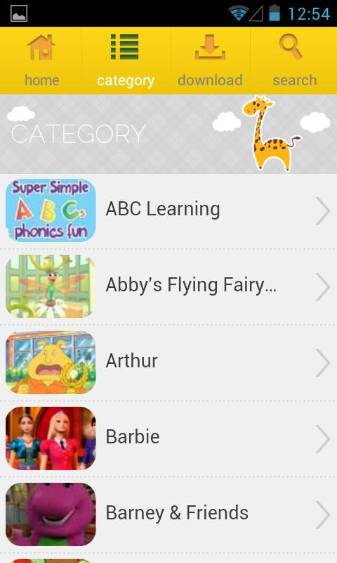KIDS TV Free - screenshot