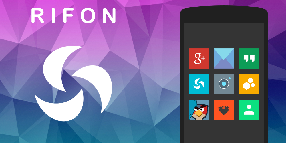Rifon - Icon Pack - screenshot