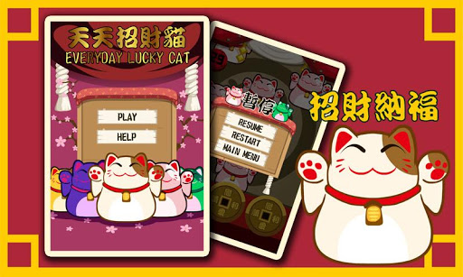 Everyday Lucky Cat