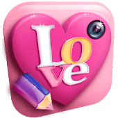 Download Love Text on Picture Editor APK on PC