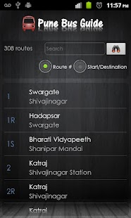 Pune Bus Guide - screenshot thumbnail