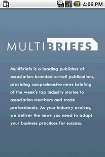 MultiBriefs By MultiView Inc. - screenshot thumbnail