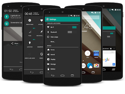 Android KitKat L-Touch Theme v1.1 APK free download