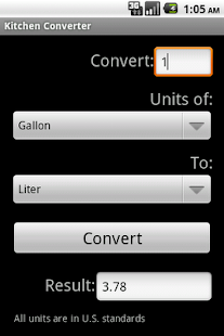 kitchen converter screenshot thumbnail