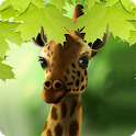 Giraffe HD Parallax Live Wallpaper Free icon