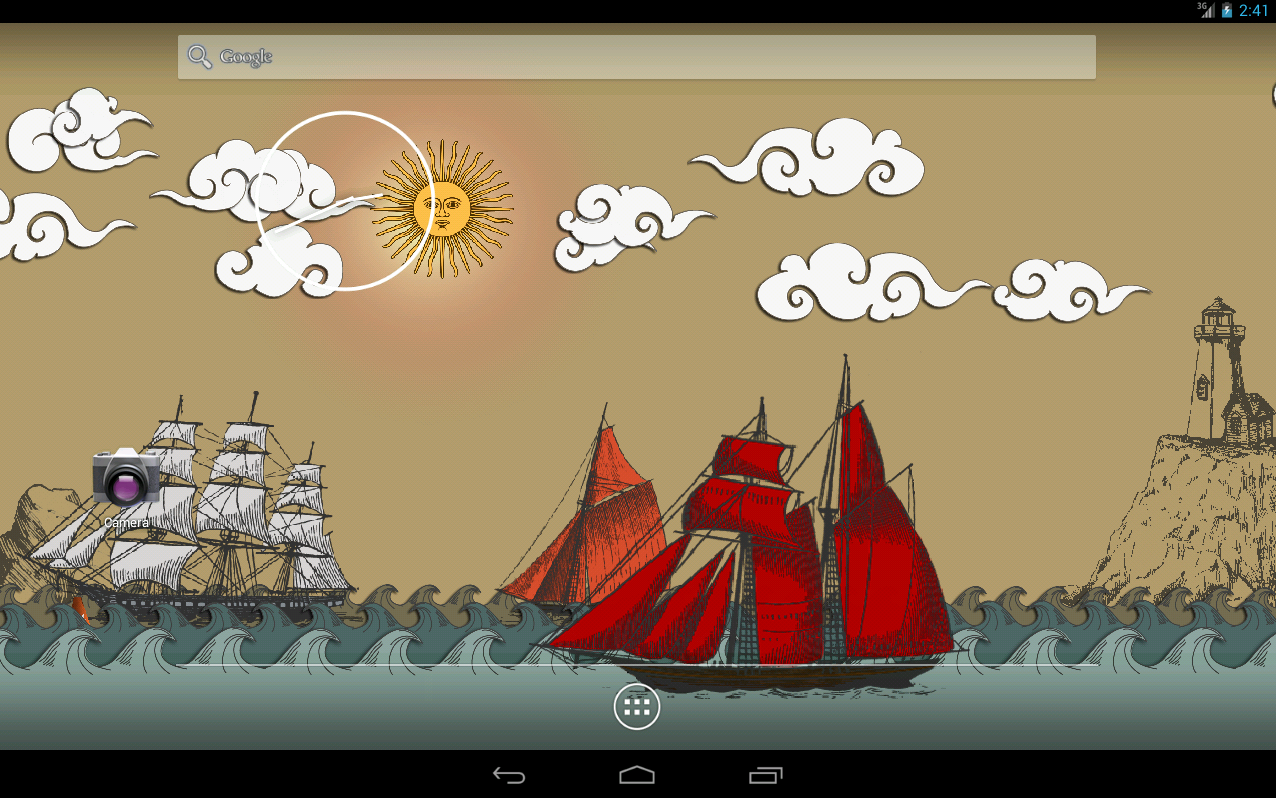 Paper Sea Live Wallpaper PRO Android Apps On Google Play