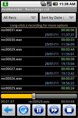 AndRecorder - Premium- screenshot