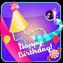 Birthday Photo Collage Frames icon