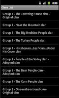 Screenshot of Navajo Clans: Native Language