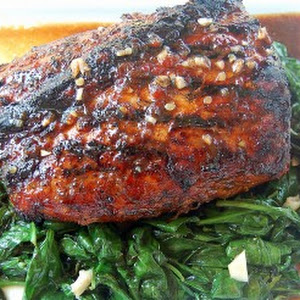 Sweet & Spicy BBQ Pork Roast
