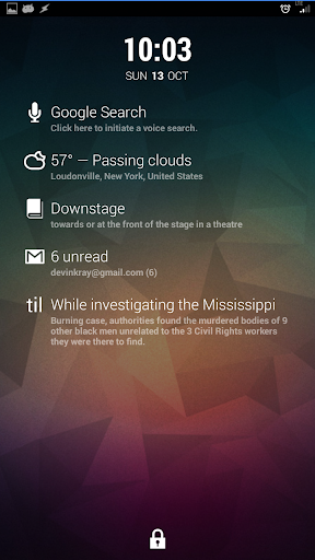 Dashclock - Today I Learned