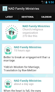 Nad Family Ministries- screenshot thumbnail