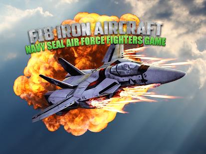 F18 Iron Aircraft - Navy Seal
