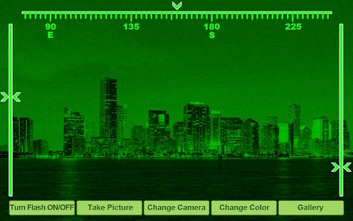Noční vidění simulátor - náhled