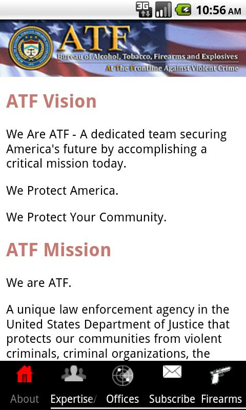 ATF - screenshot