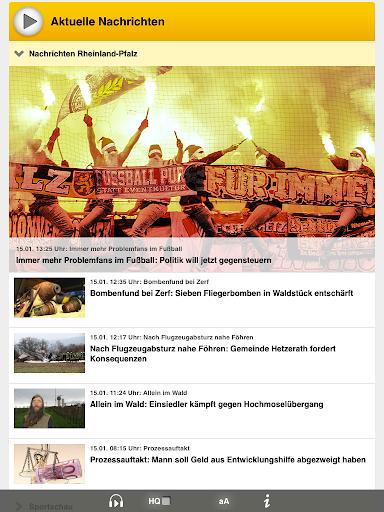 【免費媒體與影片App】SWR1 Rheinland-Pfalz Radio-APP點子