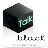 Kakao Talk Theme Black Baroque