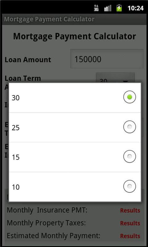 simple mortgage calculator