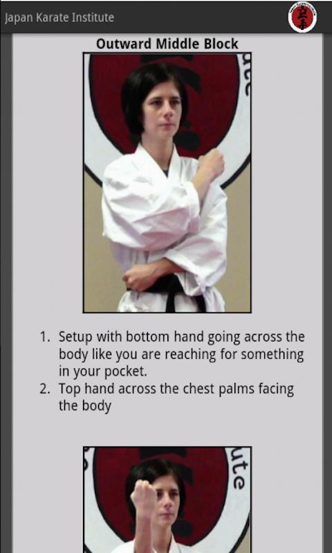 Japan Karate Institute - screenshot
