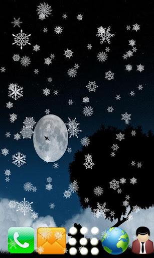 【免費個人化App】Snowfall Live wallpaper-APP點子