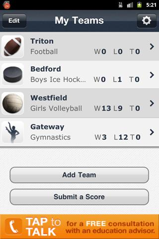 New Jersey High School Sports - screenshot
