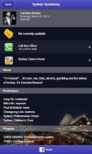 Sydney Symphony Orchestra - náhled