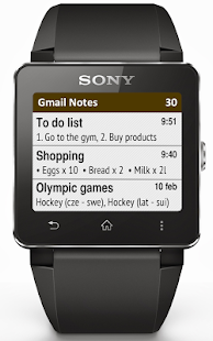 【免費生產應用App】Gmail Notes SmartWatch-APP點子