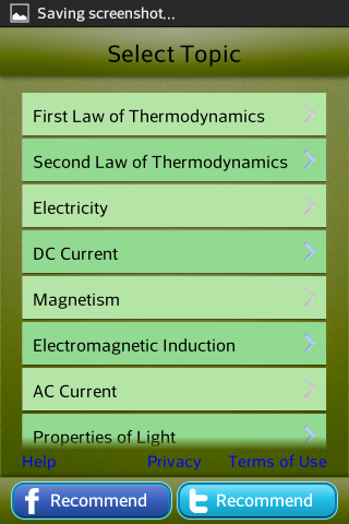 Physics Grade 11 12 College 2- screenshot