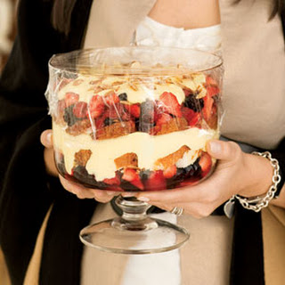 Angelic Berry Trifle.