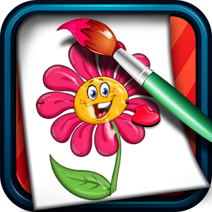 Coloring Game for Kids Flowers for PC and MAC