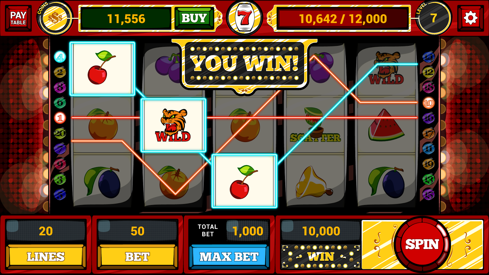 casino slot machine algorithm