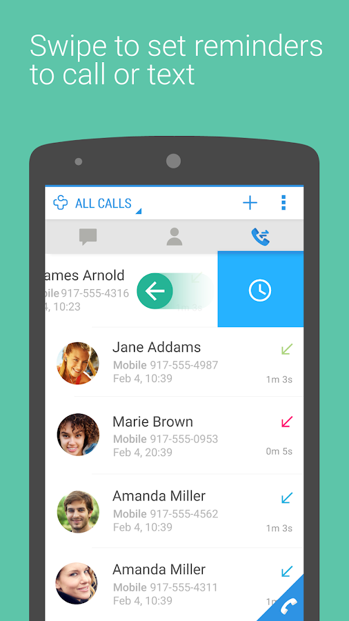 Contacts + - screenshot