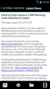 Hydro Review - screenshot thumbnail