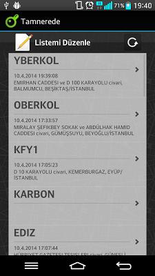 TamNerede - screenshot