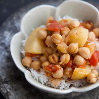 Chickpea Potato Curry.