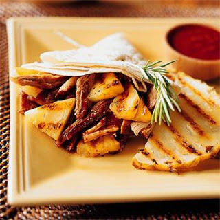 Slow-Roasted Pork with Grilled Pineapple & Chipotle Sauce