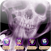 Ghost Skull [SQTheme] for ADW