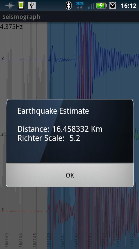 Seismograph- screenshot