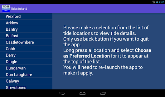 Tides Ireland- screenshot thumbnail