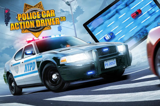 Police Car Action Driver 3D