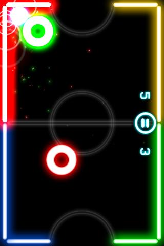 Glow Hockey 2 - screenshot