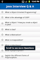 Screenshot of Java Interview Questions