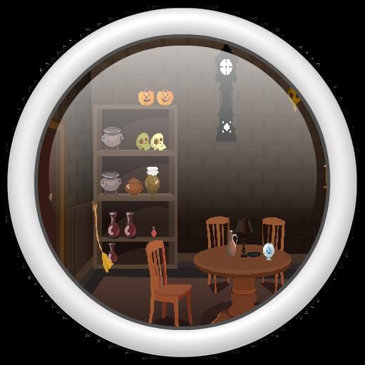 解谜の魔女の部屋脱出 LOGO-記事Game