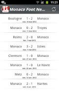 Screenshot of Monaco Foot News