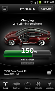 Tesla Model S Beta - screenshot thumbnail