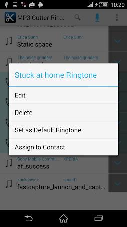 MP3 Cutter Ringtone Maker Free 5 screenshot 44666