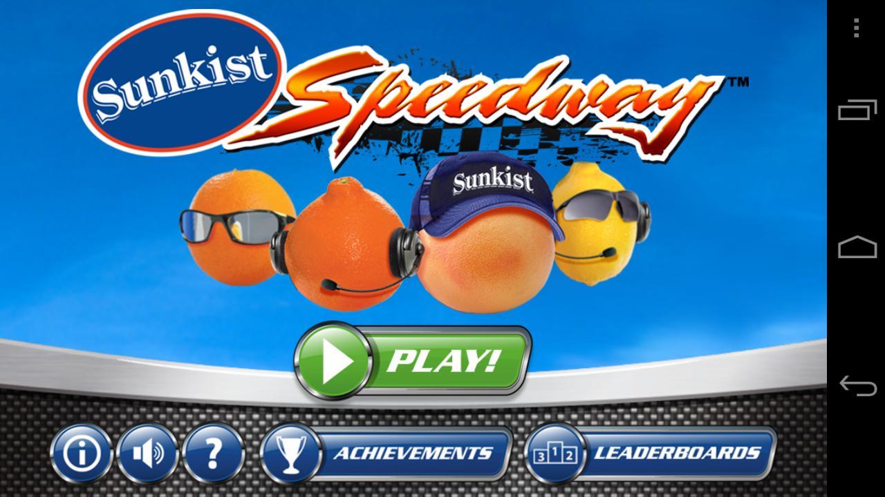 Sunkist Speedway - screenshot