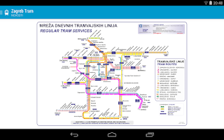 Screenshot of Zagreb Tram