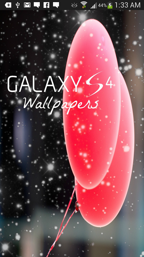 Galaxy S4 Wallpaper - screenshot